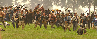 of Manassas-Bull Run Re-Enactment, 150th Anniversary, Manassas, VA